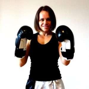 trenerka sztuk walki Monika Turemka, sekcja kickboxingu dla kobiet